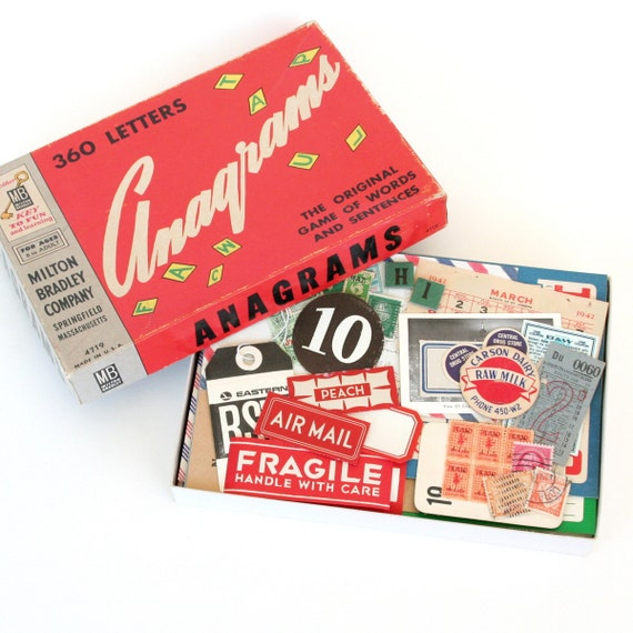 Vintage Paper Ephemera Collection No. 5 (Stamps, Labels, Tags, Tickets & More) - Over 100 Pieces