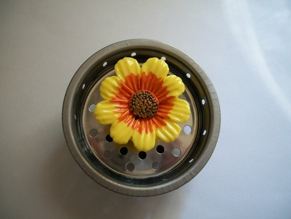 Unavailable listing on etsy - Decorative kitchen sink strainers ...