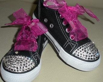Childrens Bling Tennis Shoes