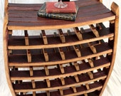 "WINE RACK - ""Alsace"" - Wine Barrel Wine Rack - 100% recycled"