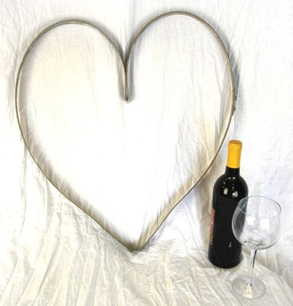 "RING ART - ""Heart"" Wine Barrel Ring - 100% recycled"