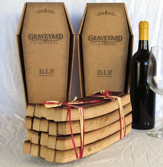 Graveyard Winery BBQ Box  - Home cremation kit for food