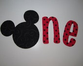 Baby's 1st Birthday Mickey and/or Minnie Appliques