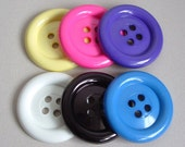 SALE Lot of 6 Extra Large Buttons was 15.00 now 7.00