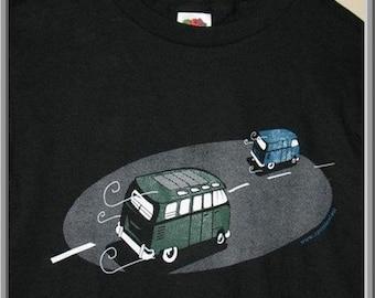 Night Drive VW Bus shirt