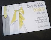 Retro Save the Date Postcard-Printable