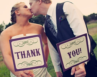 Mr. and Mrs. Wedding Prop Signs for Photos-INSTANT DOWNLOAD