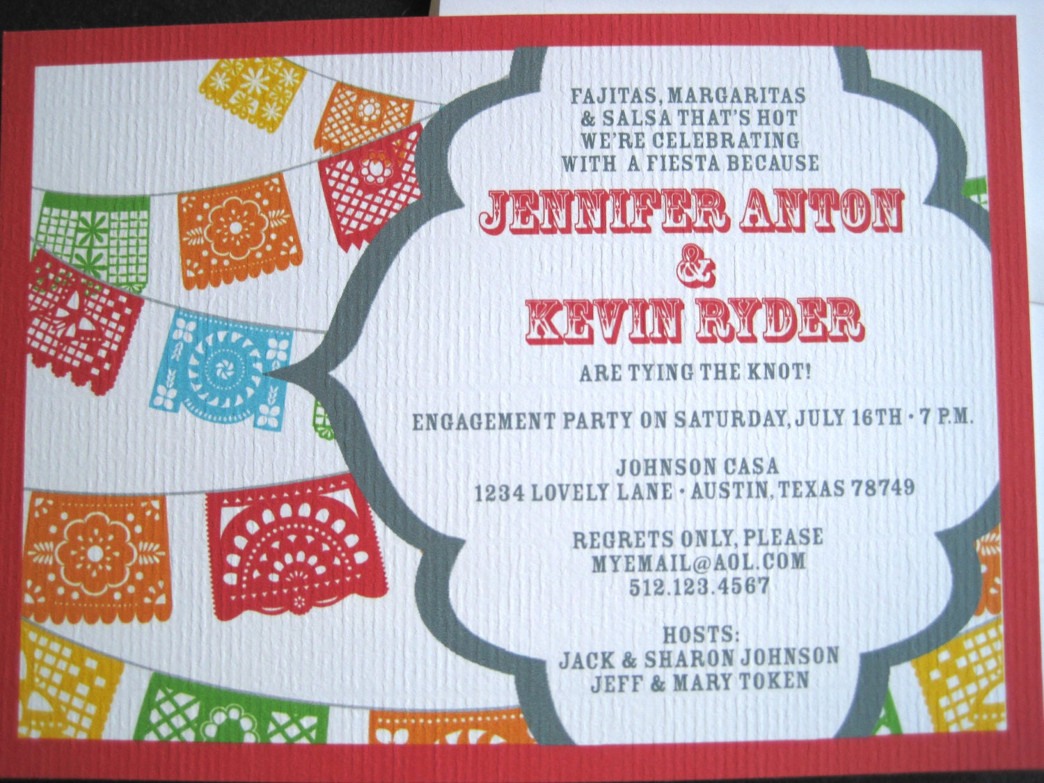 graphic about Papel Picado Printable identify Fiesta Invites with Papel Picado Banner-PRINTABLE