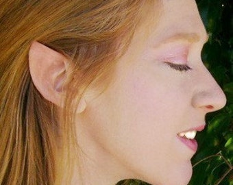 Elf Fairy Hobbit Vulcan Spock Cosplay LARP Hallowen Latex Ear Tips Prosthetics from Wizafir