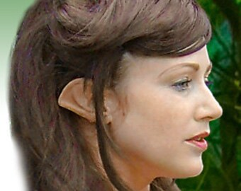 Fairy Pixie Elf Cosplay LARP Halloween Latex Pointed Ear Tips