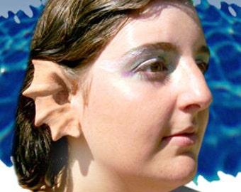 Merfolk Mermaid Siren Dragon Elf Fairy Cosplay LARP Halloween Latex Prosthetic Ears