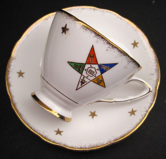 Royal Stafford Oes Order Of The Eastern Star Teacup