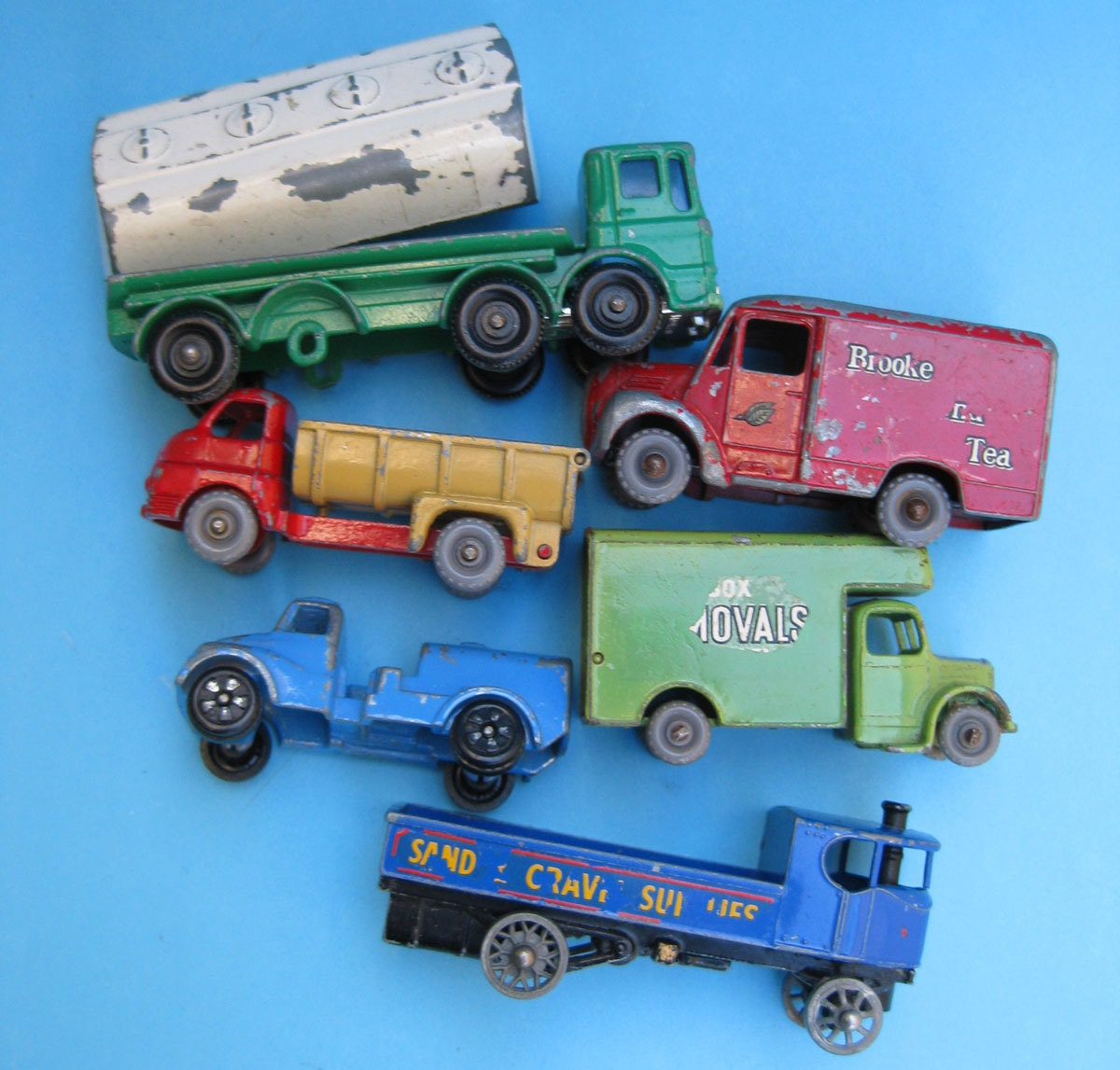 Nfl Toy Trucks : Vintage lesney die cast toy trucks miniature by