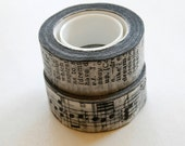 Tissue Tape by Tim Holtz - Symphony - Two Rolls 32 Yards Total