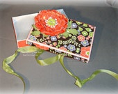 Gift Box -- Altered Gift Box -- Coral Flower