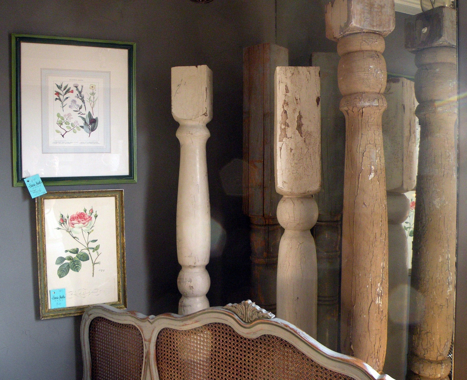 Architectural wood columns porch posts shabby chic rustic for Architectural wood columns