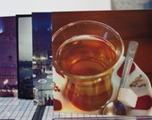 scenes from istanbul square photo cards - set of 5