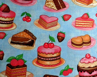 Cake Fabric Cotton Fabric Sugar Rush Material RJR