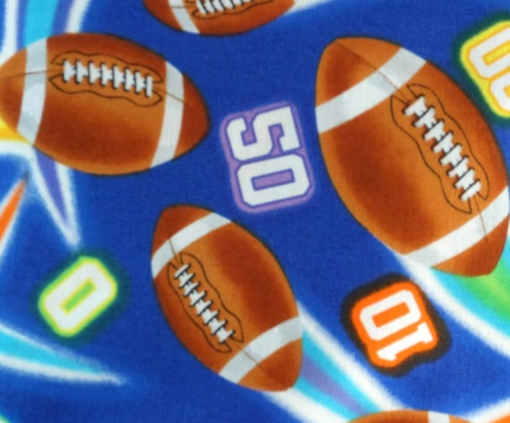 Football fabric by Timeless Treasures