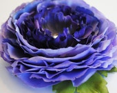 Shades of Violet Floral Hair Clip.