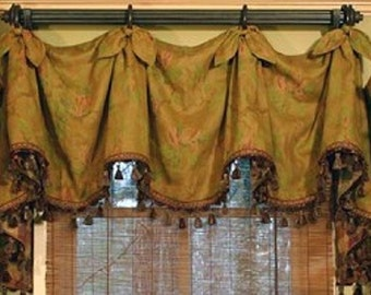 Custom made to order Valance