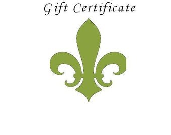 Gift Certificate Fifty Dollars to Charmed Interiors