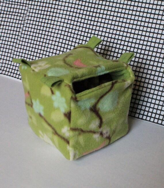 Custom Cube Cave For Sugar Gliders
