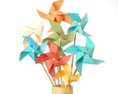 Small Multicolor Pinwheel Bouquet