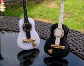 Guitar cake toppers
