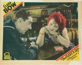 "Rare 20s CLARA BOW lobby card ""The Fleet's In"" glamorous flapper silent movie star"