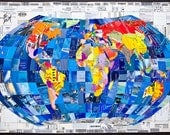 World Map Mosaic