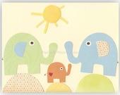 Nursery Wall Art Print ba...