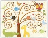 Nursery Art Decor, Kids P...