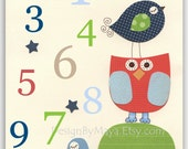Nursery Numbers, Boys Roo...