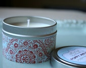 Lavender Vanilla Soy Candle Tin