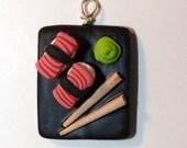 Delicious Sushi Necklace