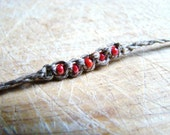 Supper Skinny Hemp Wish Bracelet or Anklet in Different Colors