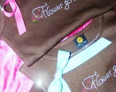 ADD A BOW to your shirt Bridesmaid or Bride Custom Bow for Crystal Rhinestone Tank Top Bridal Party Gifts