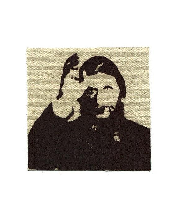 Historical Art Rasputin Screen Print Patch