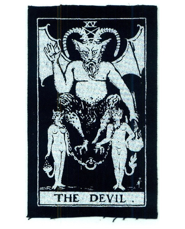 Image result for IMAGES OF SATANIC TAROT CARDS