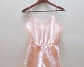 SALE -- Vintage Pink Onesie S-M