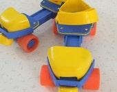 vintage fisher price adjustable roller skates