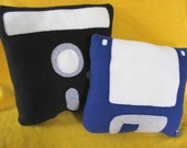 Floppy Disk Pillow Set - Geek Chic Home Decor