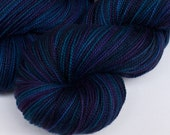 Handpainted merino sock yarn, 3.5 oz: ECHO variation