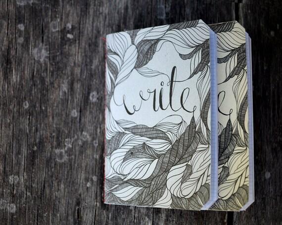 Write. A little Notebook. Set of 2.