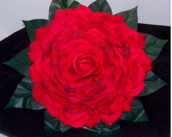Bridal Glamelia Real Touch Red Rose Bouquet