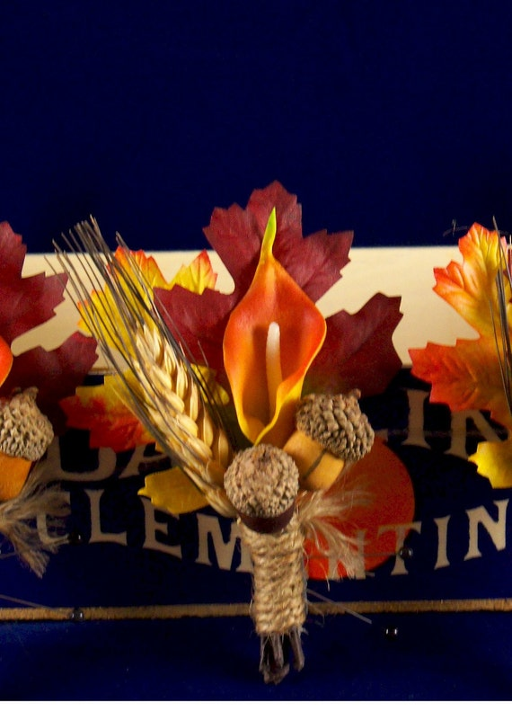 Fall cala lilly boutonniere package of 12  package price can be applied to any regularly priced 14.00 boutonnières.