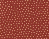 Sprinkles Brick Red - Late Bloomers by Sandy Gervais for Moda - SKU 17627 12 - 1 Yard