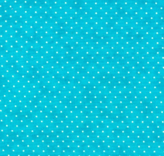 Turquoise Essential Dots by Moda - SKU 8654 35 - 1 Yard