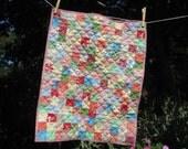 Gypsy - multicolored mini quilt